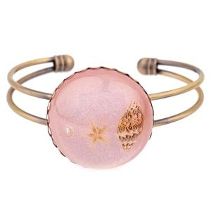 Jewelry - Pink Seashell Bracelet